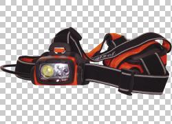 发光二极管手电筒头灯ATEX指令,头灯PNG剪贴画橙色,头灯,运动器材
