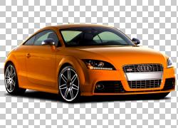 奥迪A4跑车奥迪TT RS,奥迪车,橙色奥迪车PNG剪贴画汽车,性能汽车,