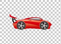 跑车汽车赛车贴花卡通,运输,汽车PNG剪贴画紧凑型轿车,汽车事故,