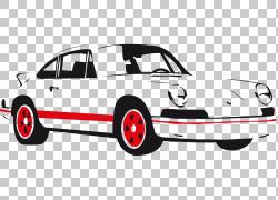 跑车法拉利,经典车PNG剪贴画紧凑型轿车,敞篷车,老式汽车,汽车,车