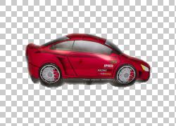 跑车玩具气球派对,汽车PNG剪贴画紧凑型汽车,运动,气球,汽车,运输
