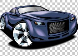 跑车赛车,跑车卡通元素PNG剪贴画卡通人物,紧凑型车,司机,汽车,性