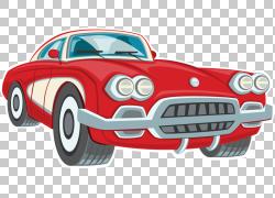 跑车车展经典车,老爷车的PNG剪贴画紧凑型轿车,老式汽车,卡车,汽