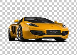 跑车迈凯轮12C迈凯伦汽车梅赛德斯 - 奔驰,麦克拉伦PNG剪贴画汽车