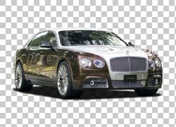 汽车豪华车2014 Bentley Flying Spur Mansory,宾利PNG剪贴画轿车