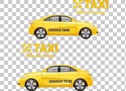 纽约市出租车黄色出租车,出租车标志PNG剪贴画紧凑型车,免费Logo