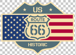 美国66号公路贴纸汽车贴花标志,路线PNG剪贴画会徽,标志,文本,标
