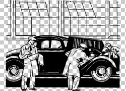汽车车辆检查,汽车检查的PNG剪贴画紧凑型轿车,老式汽车,汽车,单