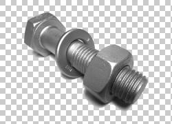 螺栓螺母紧固件合金钢结构钢,螺钉PNG剪贴画角度,技术,螺钉,钢,汽