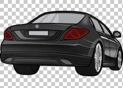 梅赛德斯 - 奔驰M级轿车豪华车,住房车PNG剪贴画紧凑型轿车,轿车,