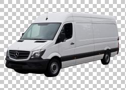 梅赛德斯,奔驰短跑运动员大众Crafter Van Car,范PNG剪贴画紧凑型