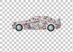 汽车标志奥迪A5平视显示器汽车行业,汽车标志PNG剪贴画汽车事故,
