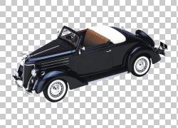 模型车德豪华福特福特汽车公司福特野马,汽车PNG剪贴画紧凑型轿车