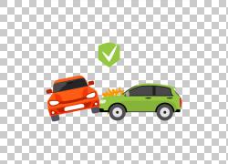 汽车交通碰撞事故车辆保险,交通事故PNG剪贴画紧凑型汽车,汽车事