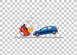 汽车交通碰撞图,崩溃火PNG剪贴画紧凑型汽车,蓝色,燃烧,摄影,电脑