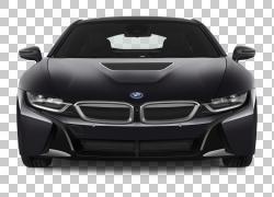 汽车2015宝马i8 2016宝马i8 2014宝马i8,前视图PNG剪贴画紧凑型轿