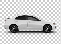 汽车2016三菱Lancer 2017三菱Lancer ES无级变速器,黄昏PNG剪贴画