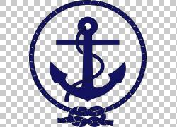 汽车保险杠贴纸商人海军贴花,锚,蓝色锚标志PNG剪贴画技术,徽标,