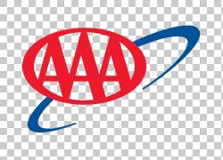 汽车俱乐部AAA路边援助保险,机票PNG剪贴画文本,商标,标志,汽车,