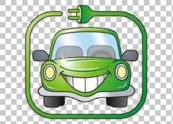 汽车电动车电池充电器特斯拉Model S宝马i3,卡通汽车PNG剪贴画卡