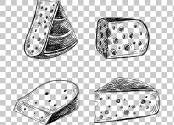 奶酪Vecteur欧几里德,奶酪PNG剪贴画矩形,奶油芝士,单色,生日快乐