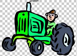农夫,拖拉机PNG剪贴画汽车,农业,卡通,运输,车辆,农场,拖拉机卡通
