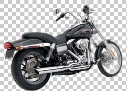 排气系统Harley-Davidson Super Glide Motorcycle Softail,Harle