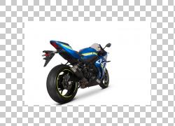 排气系统Suzuki GSX-R1000汽车摩托车,gsxr 1000 PNG剪贴画排气系