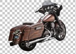 排气系统汽车哈雷戴维森旅游摩托车,汽车PNG剪贴画排气系统,汽车,