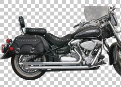 排气系统汽车摩托车管雅马哈汽车公司,哈雷戴维森PNG剪贴画排气系