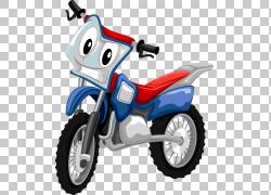 摩托车,卡通摩托车PNG剪贴画卡通人物,海报,摩托车矢量,自行车,汽
