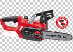 链锯Einhell工具,电锯PNG剪贴画技术,锂电池,汽车外观,锯链,锯,硬