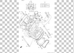 铃木发动机摩托车曲轴同步带,铃木PNG剪贴画角度,文本,单色,螺钉,