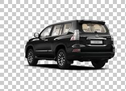 雷克萨斯GX汽车丰田兰德酷路泽普拉多小型货车,豪华欧洲PNG剪贴画