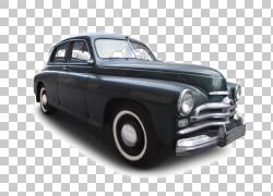 老爷车经典车标准汽车公司车辆,经典车设计PNG剪贴画紧凑型轿车,