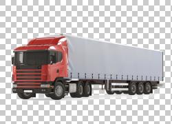 货物灯GPS导航设备卡车,大红色卡车PNG剪贴画货运,服务,卡车,汽车