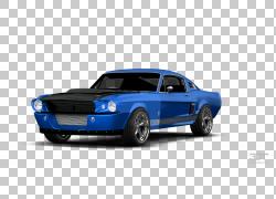 肌肉车谢尔比野马福特野马RTR讴歌,汽车PNG剪贴画蓝色,汽车,车辆,