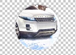 路虎揽胜Evoque Land Rover后卫Car Rover公司,陆虎流浪者PNG剪贴