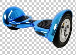 轮胎车自平衡滑板车轮子Segway PT,汽车PNG剪贴画蓝色,汽车,蓝牙,