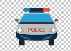 蓝色警车警车PNG剪贴画蓝色,警察,汽车,车辆,设计,产品,巴士,警察