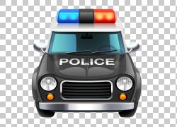 警车,手绘警察PNG剪贴画水彩画,紧凑型汽车,画,人,卡车,汽车,手绘