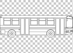 过境巴士着色书校车页,城市巴士的PNG剪贴画紧凑型汽车,角度,儿童