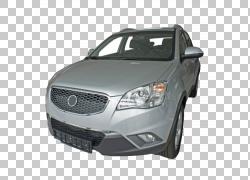 紧凑型汽车运动型多用途车保险杠,双龙PNG剪贴画紧凑型汽车,玻璃,