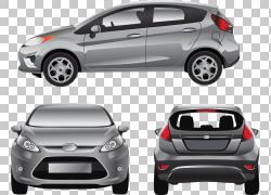 福特嘉年华福特汽车公司汽车样机,现代时尚汽车PNG剪贴画紧凑型轿