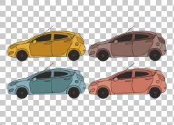 福特汽车公司汽车门城市汽车,概述福特嘉年华PNG剪贴画紧凑型车,