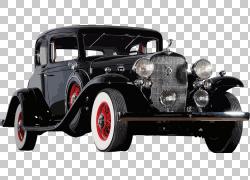 经典车老爷车车展古董车,经典车,复古黑色轿跑艺术PNG剪贴画卡车,