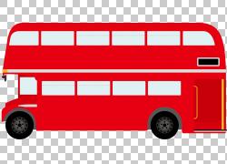 红色汽车装饰PNG剪贴画紧凑型轿车,伦敦,汽车,校车,运输方式,车辆