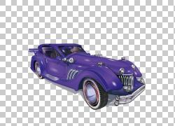 经典汽车,经典汽车逼真的纹理效果PNG剪贴画蓝色,影响,老式汽车,