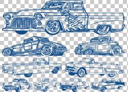 经典车,各种欧洲经典车PNG剪贴画紧凑型汽车,蓝色,汽车事故,老式