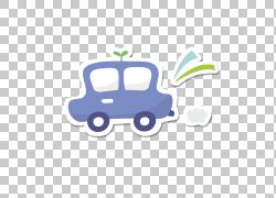 绘画,儿童绘画蓝色车PNG剪贴画水彩画,蓝色,儿童,人,汽车,卡通,排